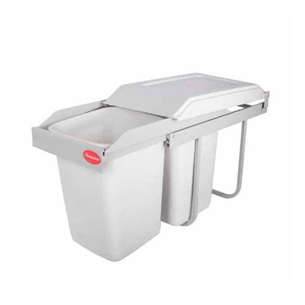 سطل زباله دوقلو ریلی