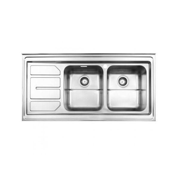 سینک روکار استیل البرز مدل 763